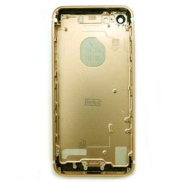 قاب و بدنه گوشی آیفون IPHONE 7 PLUS اورجینال مشکی طلایی رزگلد