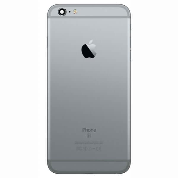 قاب و بدنه کامل با فلت های داخلی گوشی آیفون IPHONE 6S اورجینال مشکی