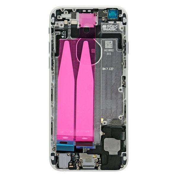 قاب و بدنه كامل با فلت هاي داخلی گوشی آیفون IPHONE 6S اورجینال مشکی