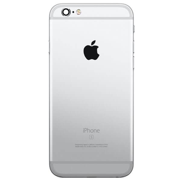قاب و بدنه کامل با فلت های داخلی گوشی آیفون IPHONE 6S اورجینال نقره ای