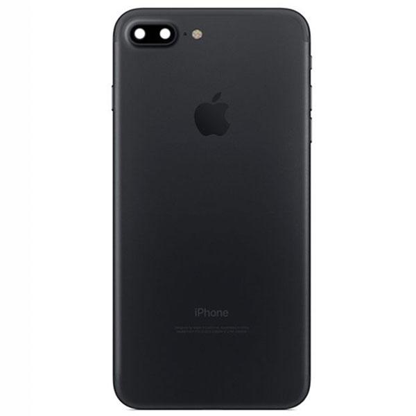 قاب و بدنه كامل با فلت هاي داخلی گوشی آیفون IPHONE 7 PLUS اورجینال مشکی