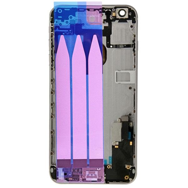 قاب و بدنه كامل با فلت هاي داخلی گوشی آیفون IPHONE 6S PLUS اورجینال مشکی