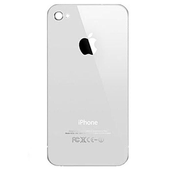 درب پشت گوشی آیفون IPHONE 4 اورجینال سفيد