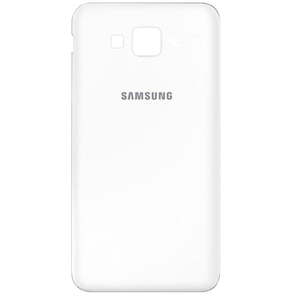 درب پشت گوشی سامسونگ SAMSUNG GALAXY J500 / J5 2015 اورجینال سفید
