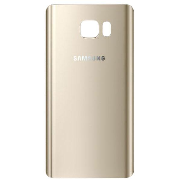 درب پشت گوشی سامسونگ SAMSUNG GALAXY N920 / NOTE 5 اورجینال طلایی