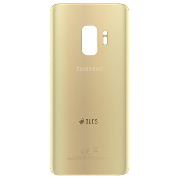 درب پشت گوشی سامسونگ SAMSUNG G965 / S9 PLUS اورجینال طلایی