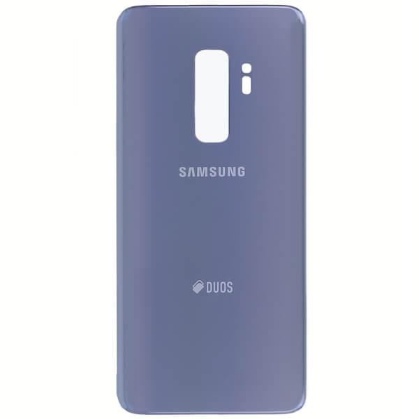 درب پشت گوشی سامسونگ SAMSUNG G965 / S9 PLUS اورجینال آبي