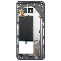 قاب میانی سامسونگ SAMSUNG N920 / NOTE 5 اورجینال سرمه ای