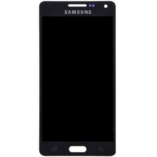 تاچ ال سی دی گوشی موبایل سامسونگ SAMSUNG GALAXY A500 / A5 2015 اورجینال گلس تعویض مشکی