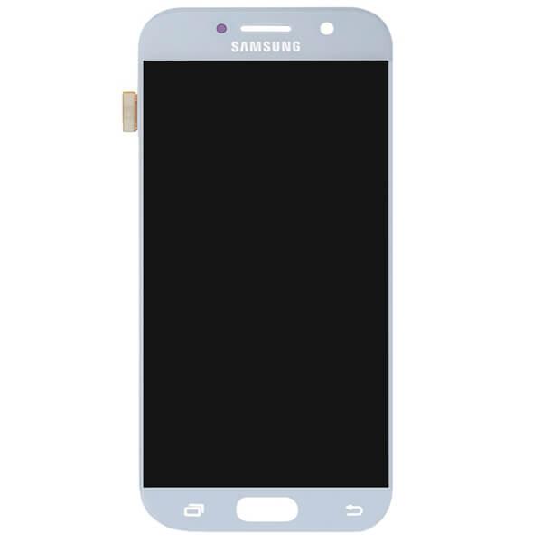 تاچ ال سی دی گوشی موبایل سامسونگ SAMSUNG GALAXY A520 / A5 2017 اورجینال شرکتی آبی