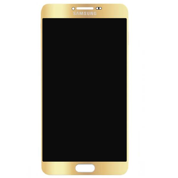 تاچ ال سی دی گوشی موبایل سامسونگ SAMSUNG GALAXY C7000 / C7 اورجینال شرکتی طلایی