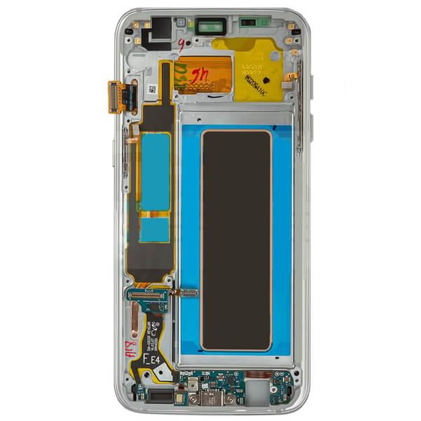 تاچ ال سی دی گوشی موبایل سامسونگ SAMSUNG G935 / S7 EDGE مشکی سفید نقره ای رزگلد طلایی آبی