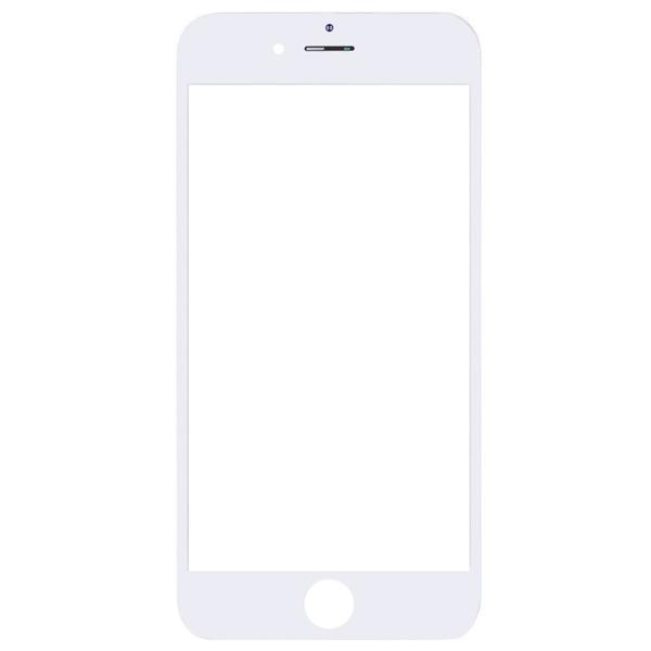 گلس تعمیراتی آيفون IPHONE 6 با OCA با فريم اورجينال سفيد