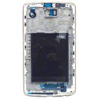 فریم ال سی دی ال جی LG D855 / G3 اورجینال سفید