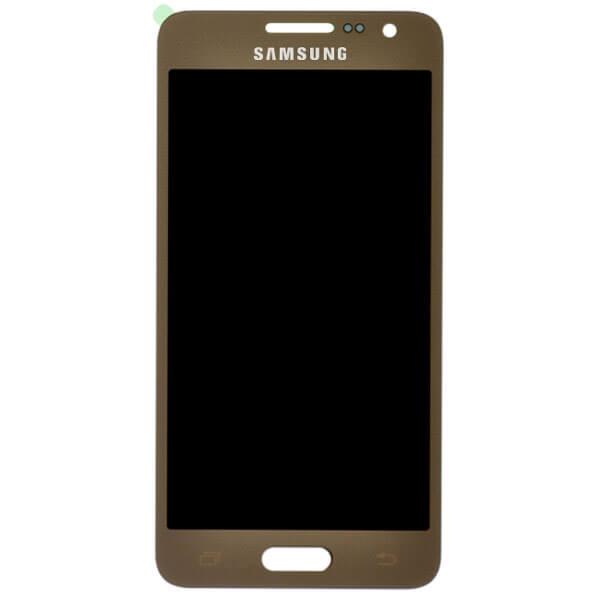 تاچ ال سی دی گوشی موبایل سامسونگ SAMSUNG GALAXY A300 / A3 2015 اورجینال شرکتی طلایی