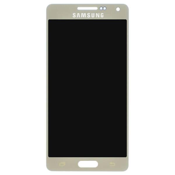 تاچ ال سی دی گوشی موبایل سامسونگ SAMSUNG GALAXY A500 / A5 2015 اورجینال شرکتی طلایی