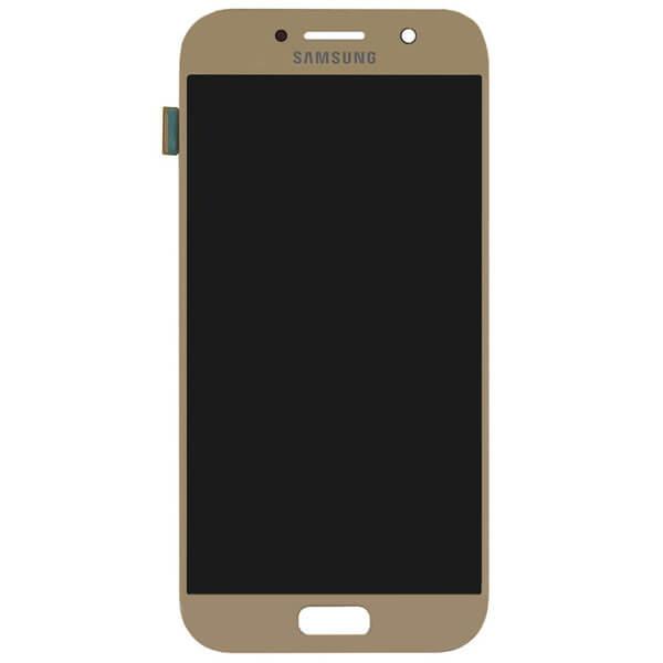 تاچ ال سی دی گوشی موبایل سامسونگ SAMSUNG GALAXY A520 / A5 2017 اورجینال شرکتی طلایی