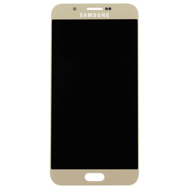 تاچ ال سی دی گوشی موبایل سامسونگ SAMSUNG GALAXY A800 / A8 2015 اورجینال گلس تعویض طلایی