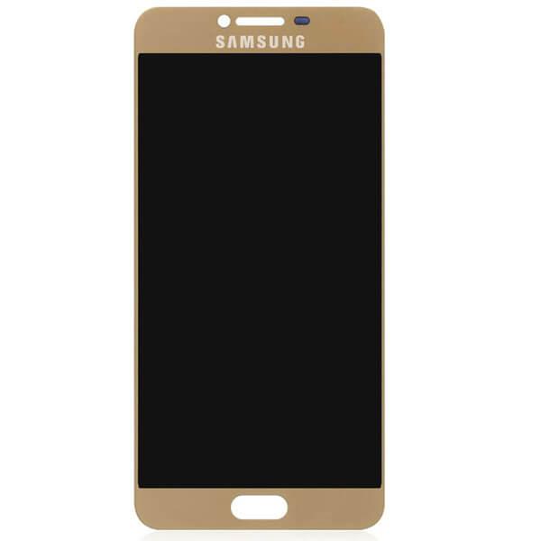 تاچ ال سی دی گوشی موبایل سامسونگ SAMSUNG GALAXY C7000 / C7 اورجینال گلس تعویض طلایی