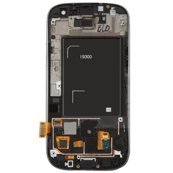 تاچ ال سی دی گوشی موبایل سامسونگ SAMSUNG GALAXY I9300 / S3 مشکی آبی سفید