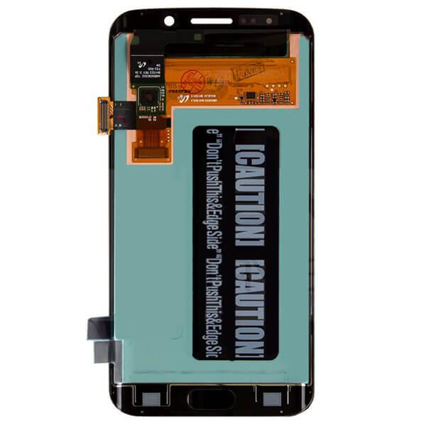 تاچ ال سی دی گوشی موبایل سامسونگ SAMSUNG GALAXY G925 / S6 EDGE اورجینال گلس تعویض سرمه ای