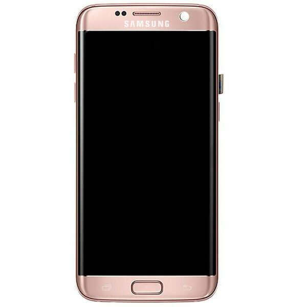تاچ ال سی دی گوشی موبایل سامسونگ SAMSUNG G935 / S7 EDGE اورجینال شرکتی با فریم رزگلد