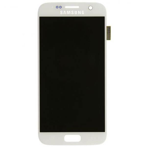 تاچ ال سی دی گوشی موبایل سامسونگ SAMSUNG GALAXY G930 / S7 اورجینال شرکتی سفید