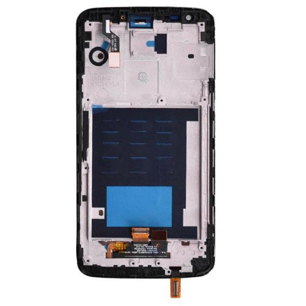 تاچ ال سی دی گوشی موبایل ال جی LG D802 / G2 مشکی سفید