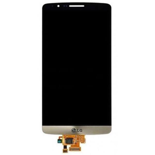 تاچ ال سی دی گوشی موبایل ال جی LG D855 / G3 اورجینال طلایی