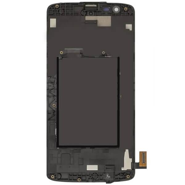 تاچ ال سی دی گوشی موبایل ال جی LG K350 / K8 اورجینال با فریم سفید