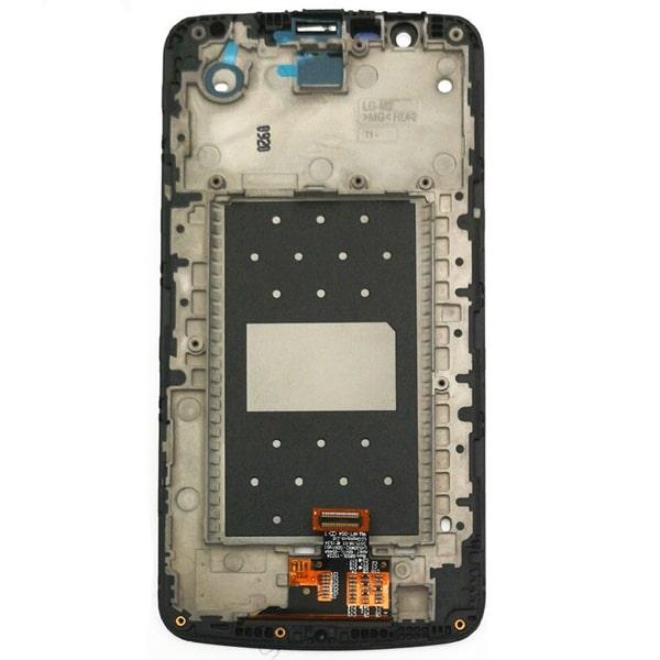 تاچ ال سی دی گوشی موبایل ال جی K430 / K10 TV با آی سی سفید مشکی