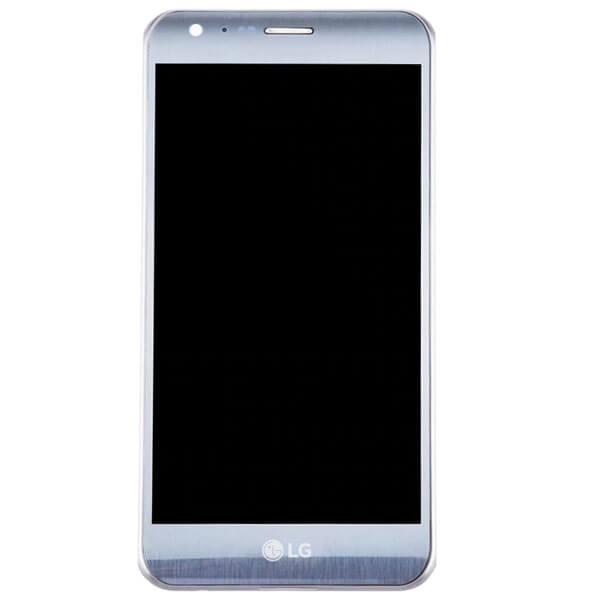 تاچ ال سی دی گوشی موبایل ال جی LG K580 / X CAM با فریم نقره ای (با تناژ خاکستری)