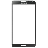 گلس تعمیراتی سامسونگ نوت SAMSUNG N9000 / NOTE 3 اورجینال مشکی