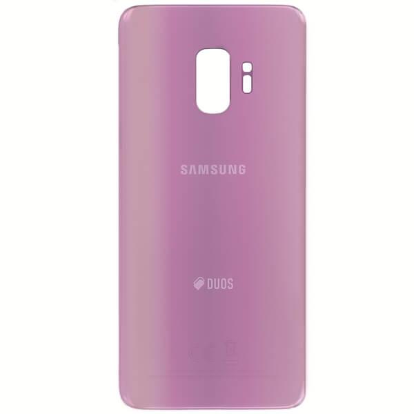 درب پشت گوشی سامسونگ SAMSUNG G960 / S9 اورجینال بنفش