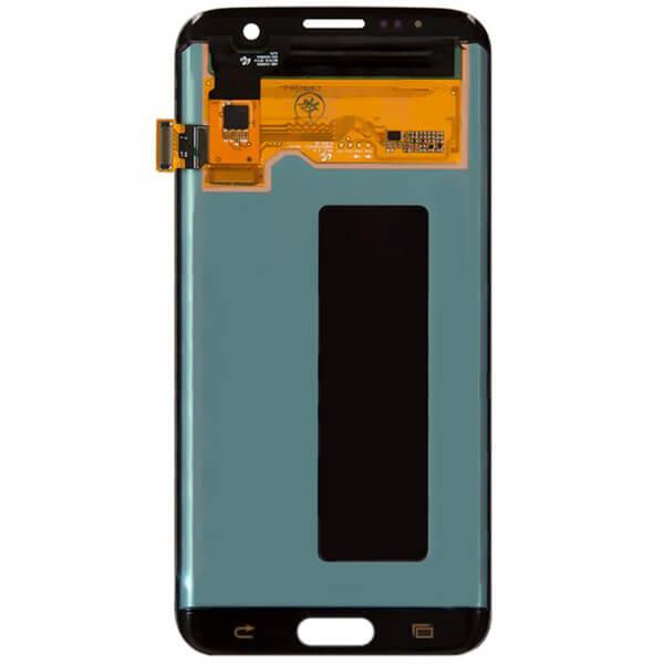 تاچ ال سی دی گوشی موبایل سامسونگ SAMSUNG G935 / S7 EDGE كاركرده گلس تعويض نقره ای