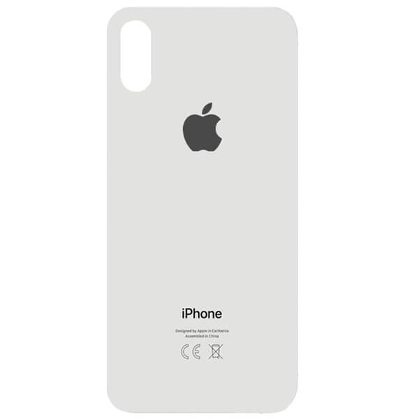 درب پشت گوشی آیفون IPHONE XS MAX اورجينال سفيد