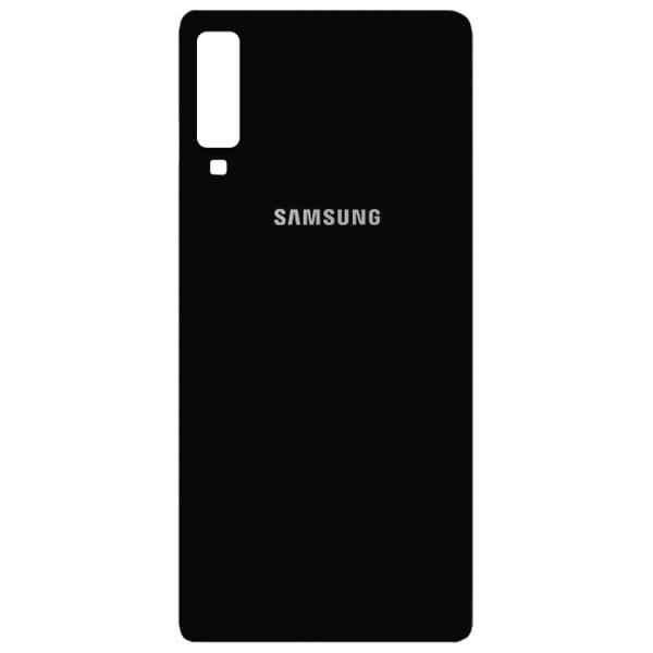 درب پشت گوشی سامسونگ SAMSUNG A750 / A7 2018 اورجینال مشکی