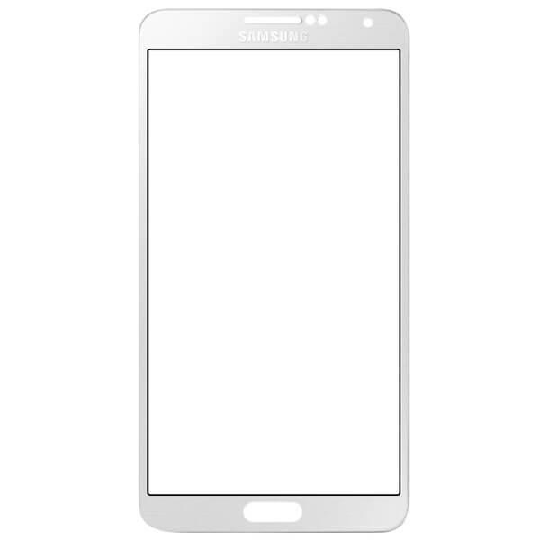 گلس تعمیراتی سامسونگ SAMSUNG N900/N9000/NOTE 3 ساخت چین سفید