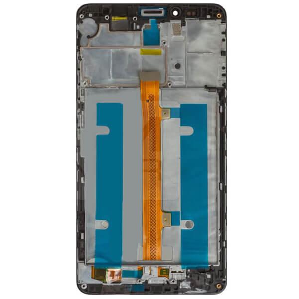 تاچ ال سی دی گوشی موبایل هواوی HUAWEI MATE 7 با فریم اورجینال مشکی