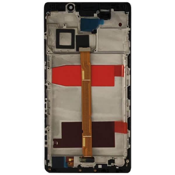 تاچ ال سی دی گوشی موبایل هواوی HUAWEI MATE 8 با فریم اورجینال مشکی