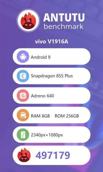 گوشی vivo IQOO Pro 5G در بنچمارک Antutu رکورد زد