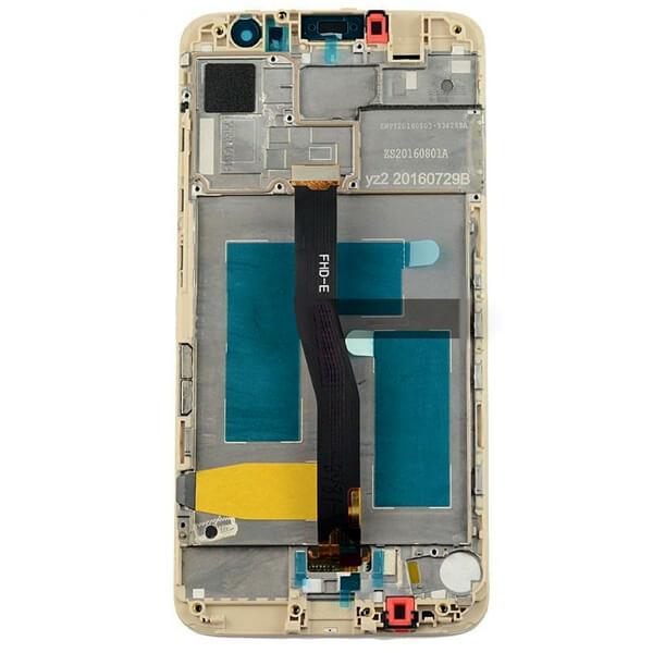 تاچ ال سی دی گوشی موبایل هواوی HUAWEI NOVA PLUS با فريم اورجینال طلایی