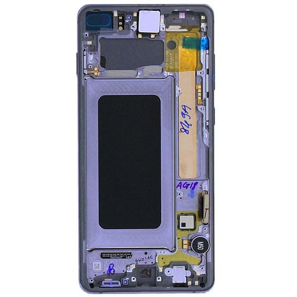 تاچ ال سی دی گوشی موبایل سامسونگ SAMSUNG G975 / S10+ / S10 PLUS مشکی سفید