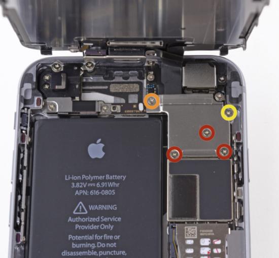 راهنمای تعویض صفحه نمایش آیفون ۶