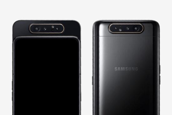 مقایسه گوشیهای سامسونگ گلکسی A80 و S10