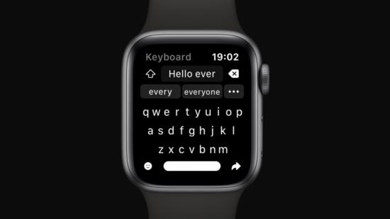 معرفی نرم افزار Shift Keyboard برای اپل واچ
