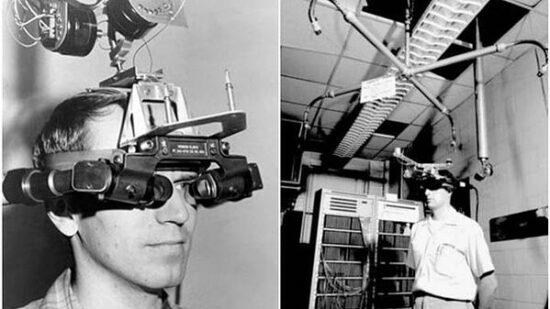 تاریخچه فناوری واقعیت افزوده AR