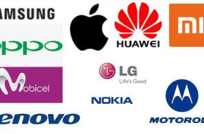 10 تولید کننده برتر تلفن همراه جهان