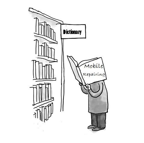 فرهنگ لغت تعمیرات تلفن همراه
