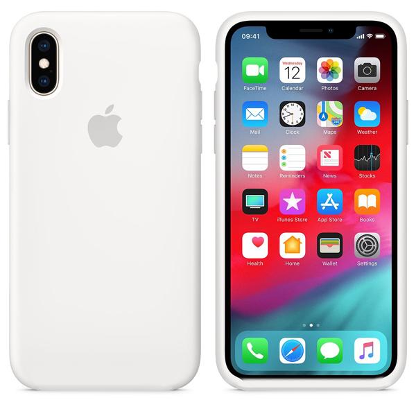 silicone case iphone white